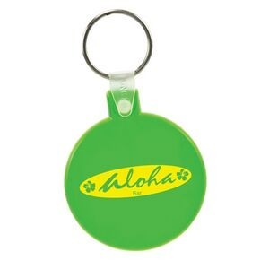 Soft Squeezable Key Tag (Round)