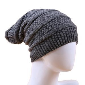 Cable Knit Beanie for Men & Women