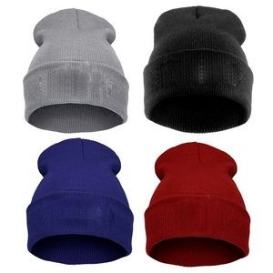 Cuff Beanie Watch Cap for Men and Women