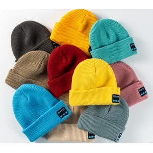 Acrylic Bluetooth Knit Cap