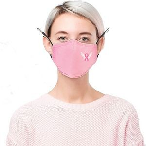 Breast Cancer Awareness Pink Face Mask