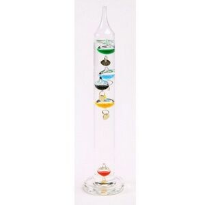 "7"" Galileo Thermometer (Screen printed)"