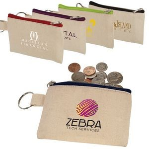 Cotton ID Holder & Coin Pouch