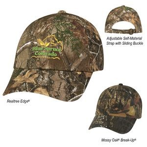 Realtree® And Mossy Oak® Hunter's Hideaway Camouflage Cap