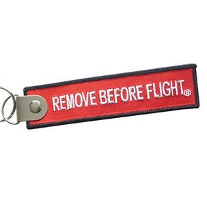 "Remove Before Flight Keytags (7.75"" x 1.25"")"