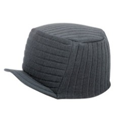 Adult Ultra Soft Acrylic Trucker Knit Beanie w/Brim