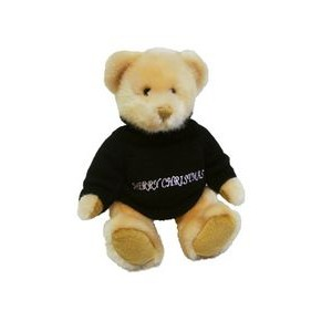 Custom Plush Honey Christmas Bear