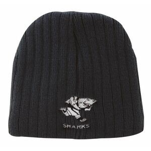 Cable Knit Beanie (Embroidered)
