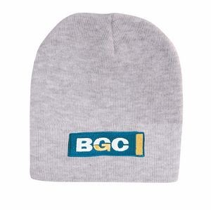 ROLL DOWN ACRYLIC BEANIE (Embroidered)