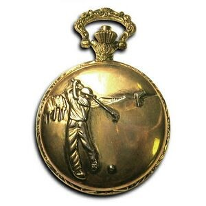 Pocket Watch w/ Chain (Golf)