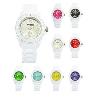 Sports Silicone Analog Wrist Watch