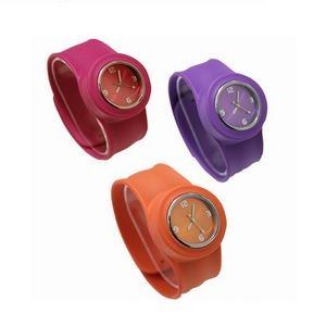 Flexible Silicone Slap Watch